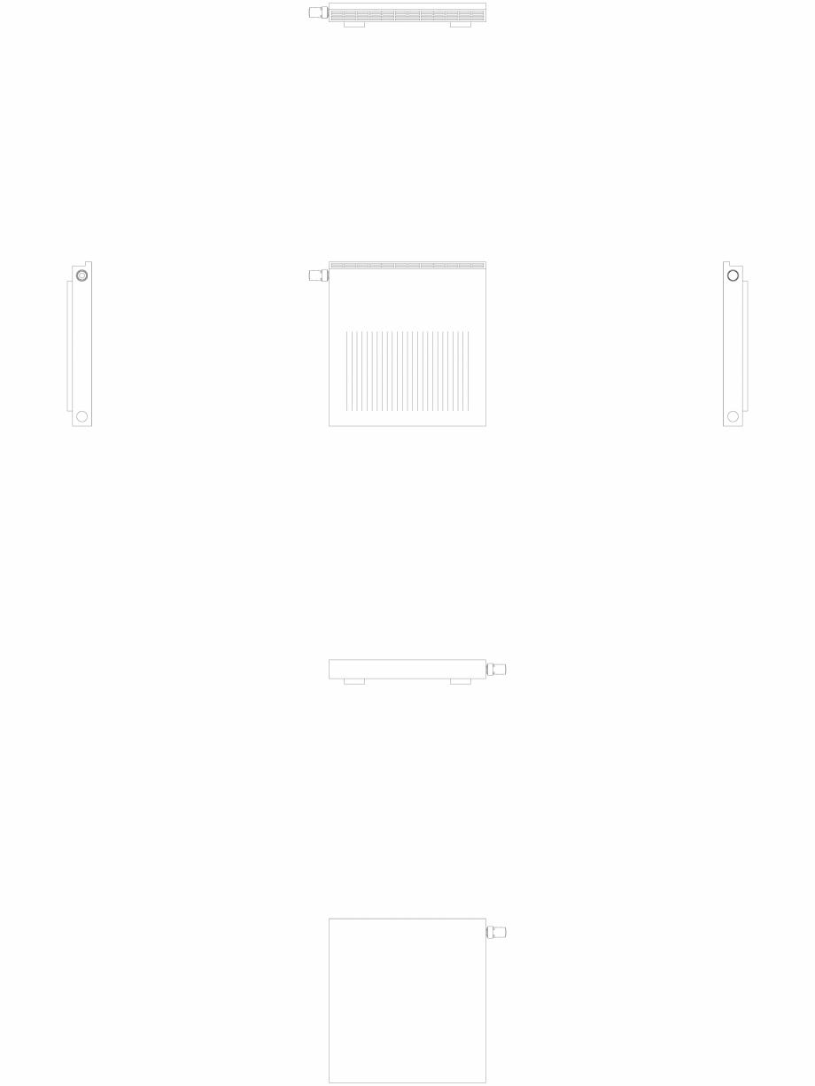 Pagina 1 - CAD-DWG calorifer_decorativ_NIVA-NH1L1_650-620_2D VASCO Detaliu de produs NIVA ORIZONTAL