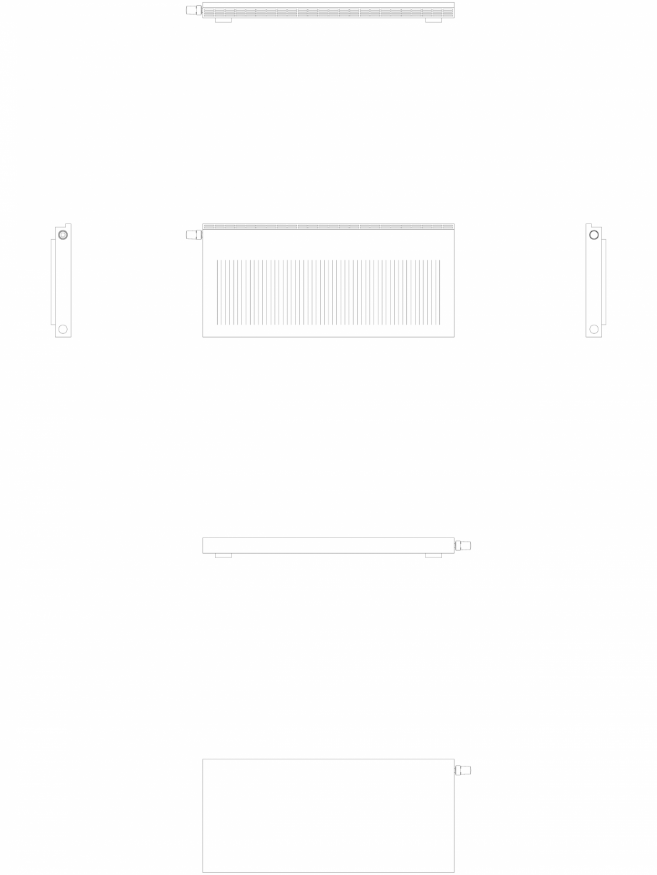 Pagina 1 - CAD-DWG calorifer_decorativ_NIVA-NH1L1_550-1220_2D VASCO Detaliu de produs NIVA ORIZONTAL...
