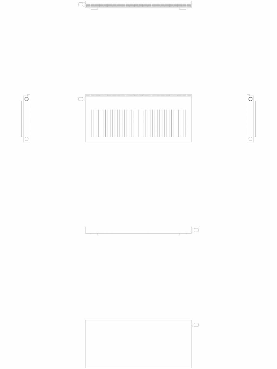 Pagina 1 - CAD-DWG calorifer_decorativ_NIVA-NH2L1_550-1220_2D VASCO Detaliu de produs NIVA ORIZONTAL...