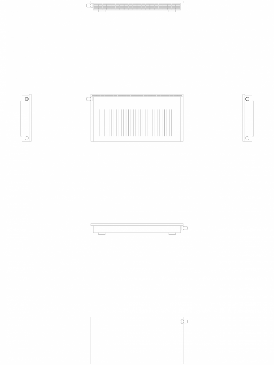 Pagina 1 - CAD-DWG calorifer_decorativ_NIVA-NH2L2_550-1078_2D VASCO Detaliu de produs NIVA ORIZONTAL...