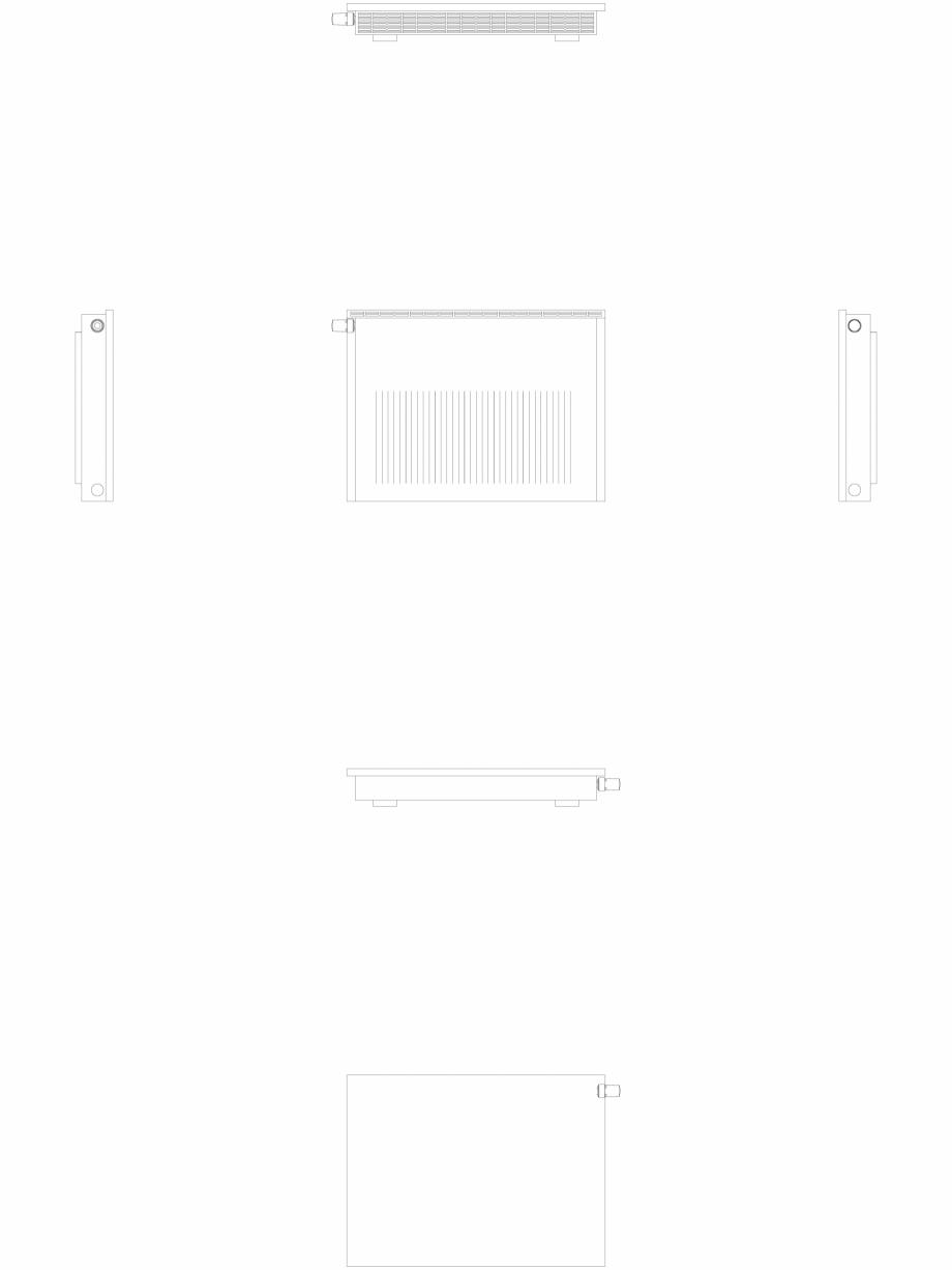 Pagina 1 - CAD-DWG calorifer_decorativ_NIVA-NH2L2_650-878_2D VASCO Detaliu de produs NIVA ORIZONTAL