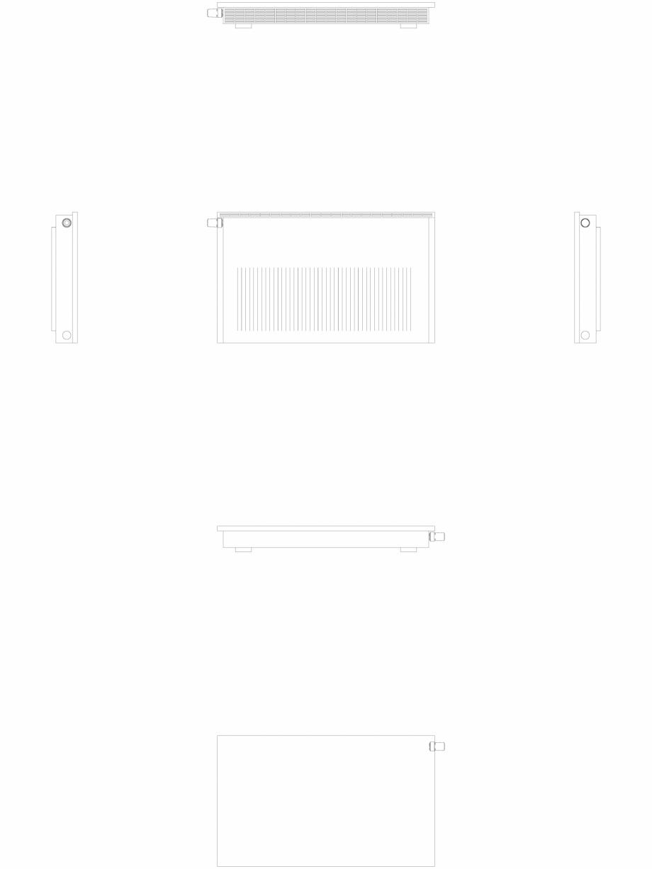 Pagina 1 - CAD-DWG calorifer_decorativ_NIVA-NH2L2_650-1078_2D VASCO Detaliu de produs NIVA ORIZONTAL...