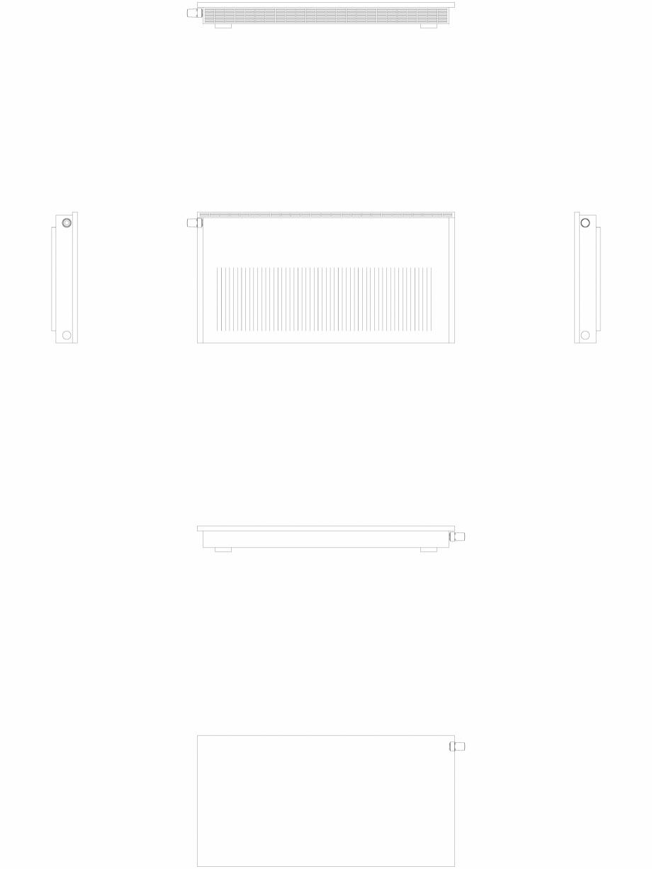 Pagina 1 - CAD-DWG calorifer_decorativ_NIVA-NH2L2_650-1278_2D VASCO Detaliu de produs NIVA ORIZONTAL...