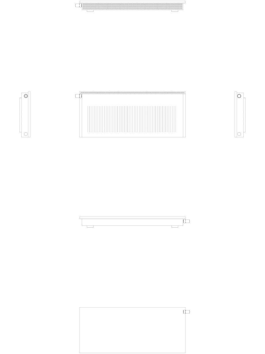 Pagina 1 - CAD-DWG calorifer_decorativ_NIVA-NH2L2_550-1278_2D VASCO Detaliu de produs NIVA ORIZONTAL...