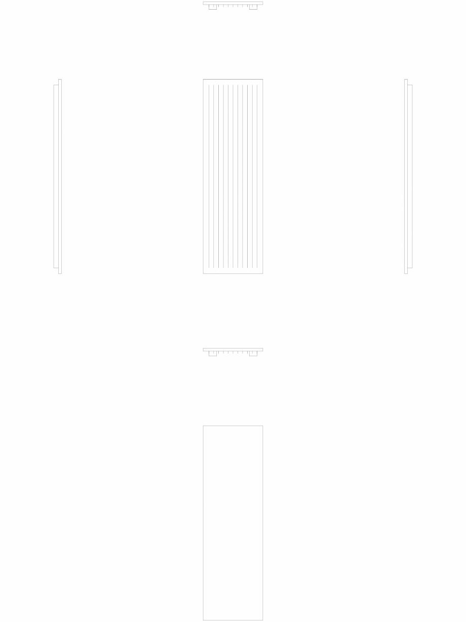 Pagina 1 - CAD-DWG calorifer_decorativ_NIVA-N1L1-ES_2020-620_2D VASCO Detaliu de produs NIVA INOX