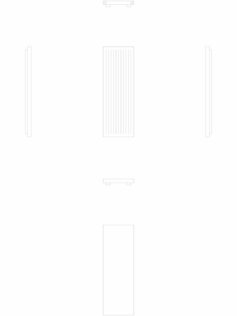 Pagina 1 - CAD-DWG calorifer_decorativ_NIVA-N2L1-ES_1820-620_2D VASCO Detaliu de produs NIVA INOX