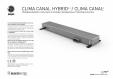 Ventiloconvector de pardoseala JAGA - CLIMA CANAL, CLIMA CANAL Hybrid