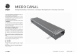 Ventiloconvector de pardoseala JAGA - MICRO CANAL