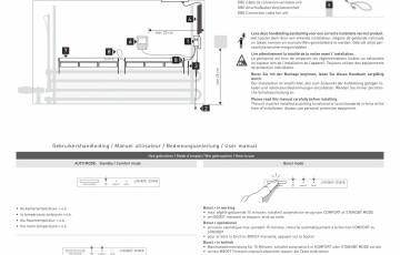 Unitate de control pentru calorifere de plinta JAGA