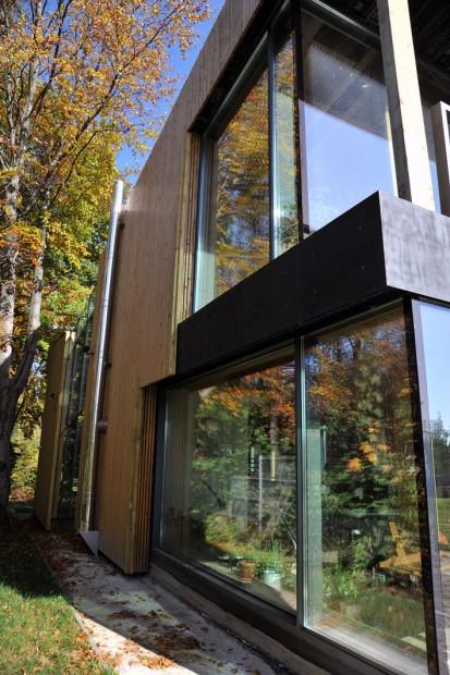 Casa pe structura de lemn Case pe structura de lemn