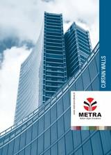 Sisteme din aluminiu pentru fatade continue LEYKOM METRA
