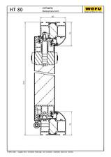 Usi de exterior din aluminiu HT 80 WERU