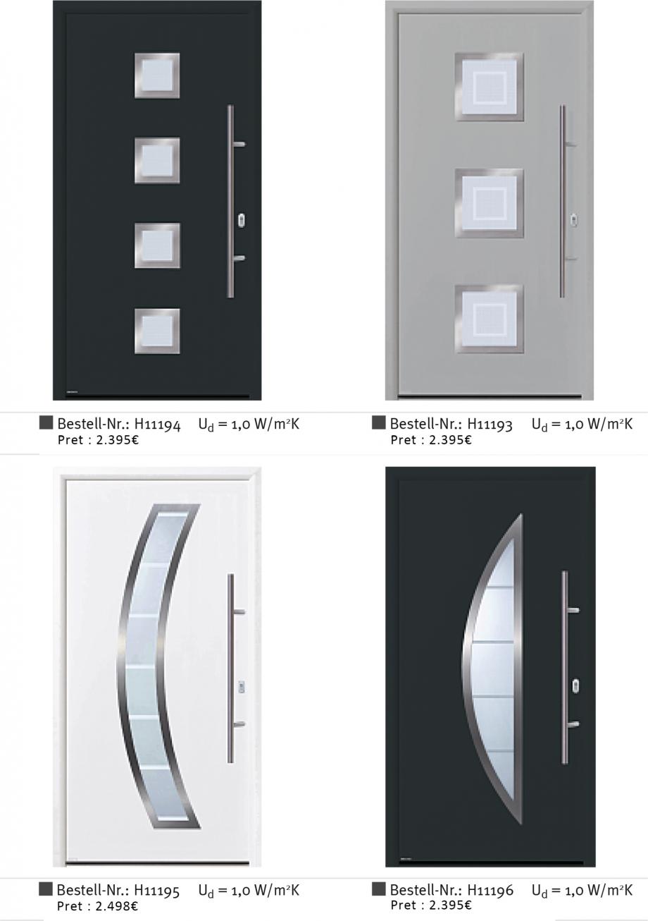 Pagina 3 - Usi de exterior din aluminiu WERU Catalog, brosura Romana