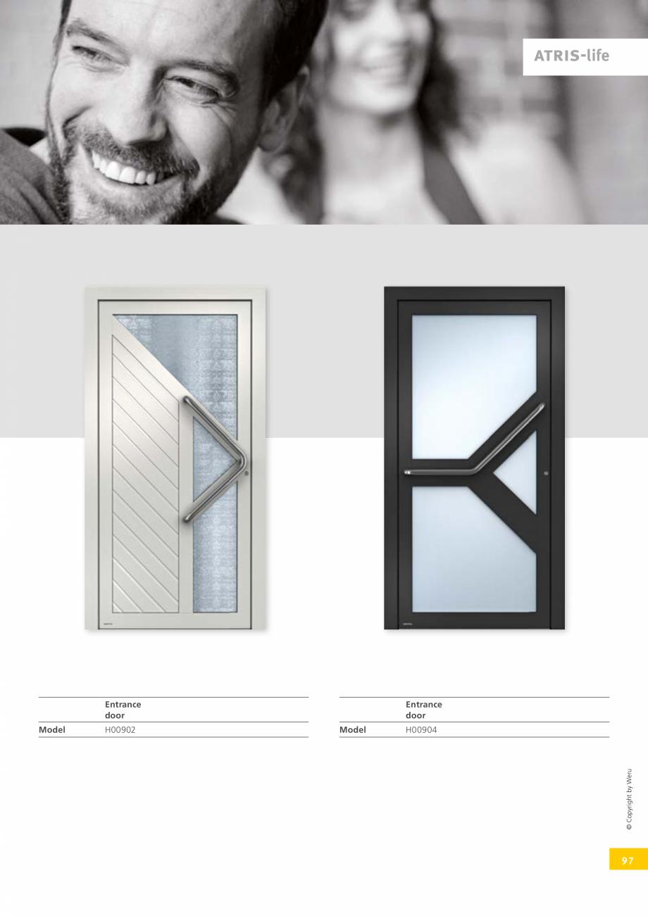 Pagina 97 - Catalog general - Usi de exterior din aluminiu WERU Catalog, brosura Engleza