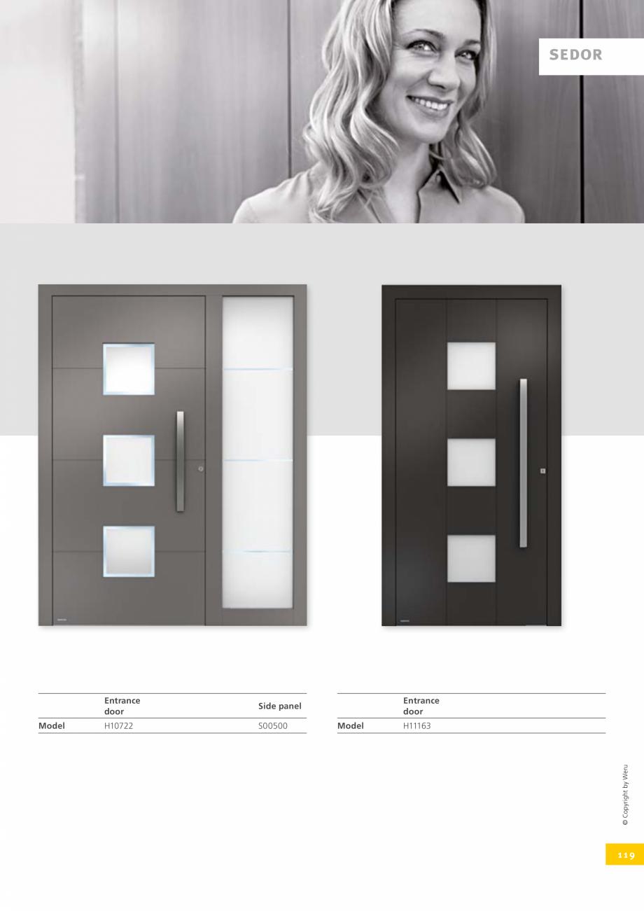 Pagina 119 - Catalog general - Usi de exterior din aluminiu WERU Catalog, brosura Engleza