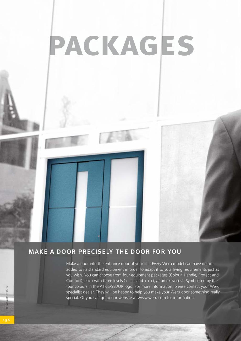 Pagina 156 - Catalog general - Usi de exterior din aluminiu WERU Catalog, brosura Engleza