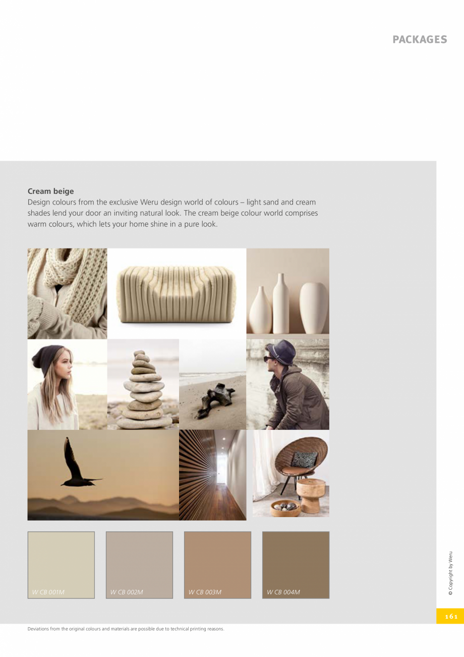 Pagina 161 - Catalog general - Usi de exterior din aluminiu WERU Catalog, brosura Engleza