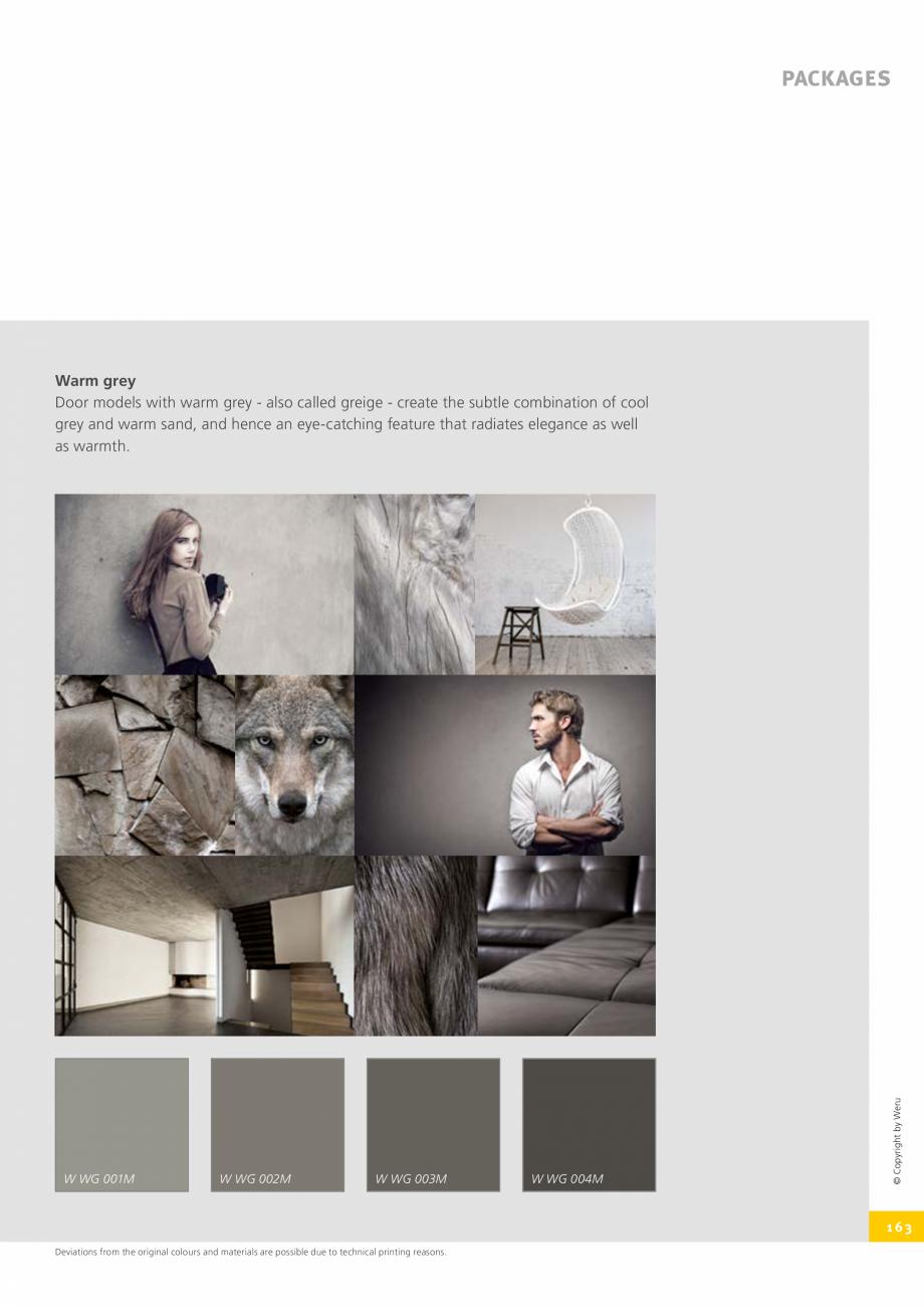 Pagina 163 - Catalog general - Usi de exterior din aluminiu WERU Catalog, brosura Engleza