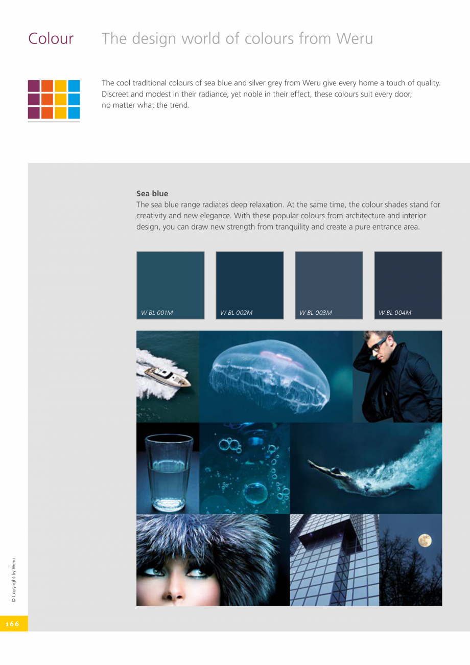 Pagina 166 - Catalog general - Usi de exterior din aluminiu WERU Catalog, brosura Engleza