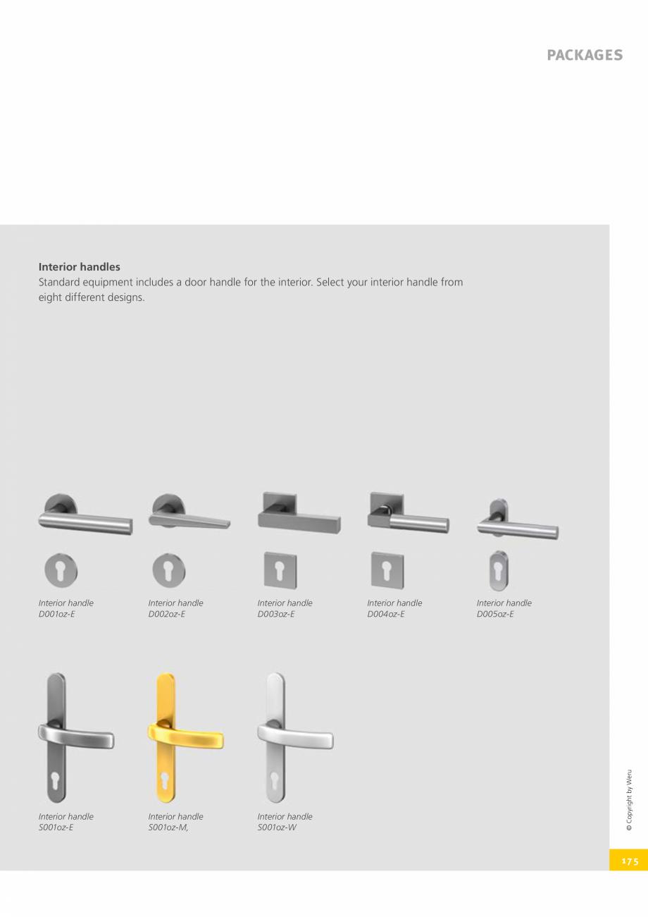 Pagina 175 - Catalog general - Usi de exterior din aluminiu WERU Catalog, brosura Engleza