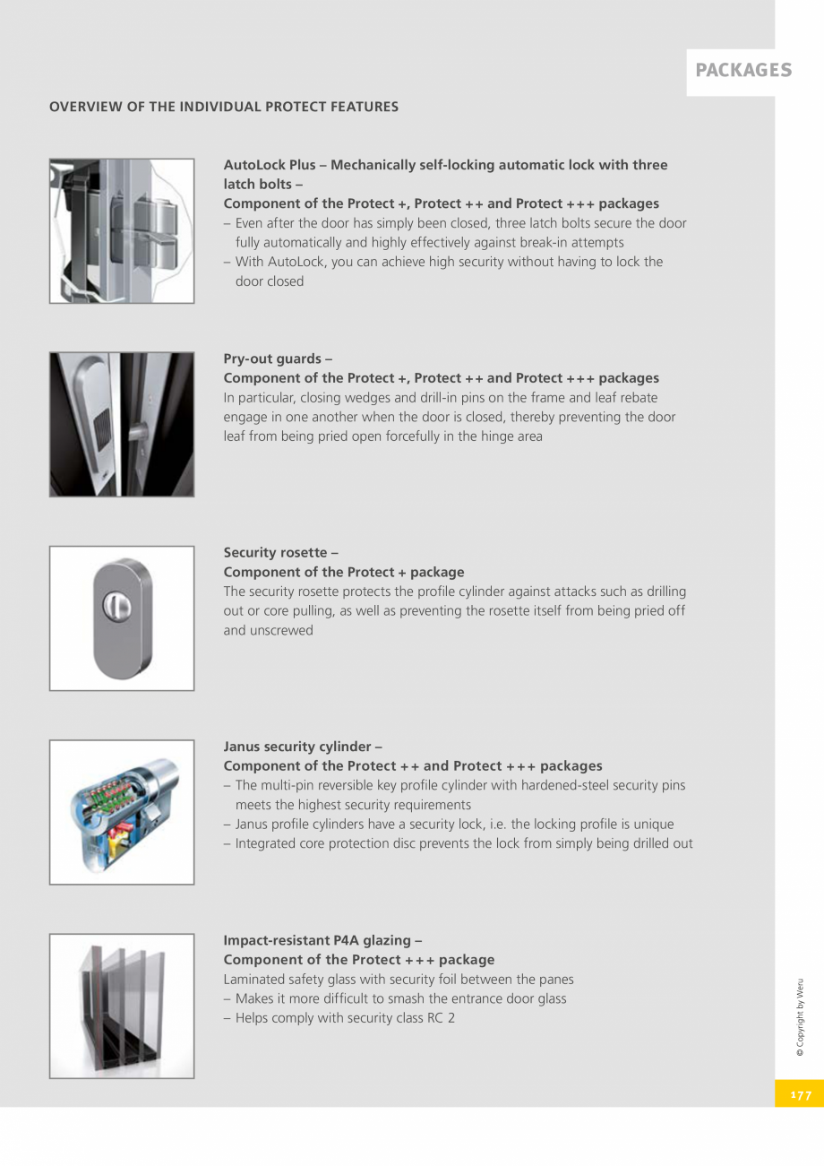 Pagina 177 - Catalog general - Usi de exterior din aluminiu WERU Catalog, brosura Engleza
