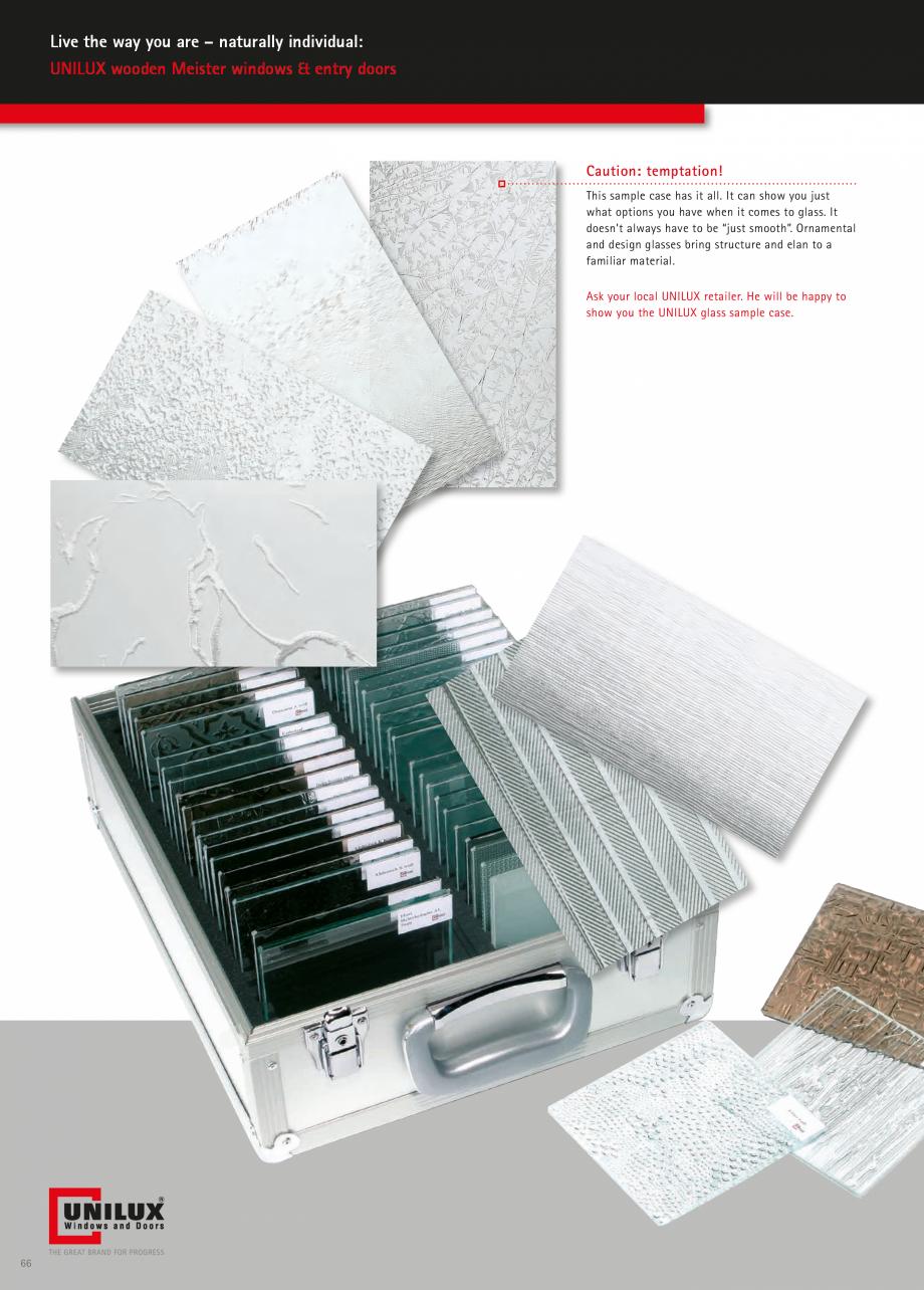 Pagina 66 - Ferestre din lemn stratificat UNILUX Catalog, brosura Engleza