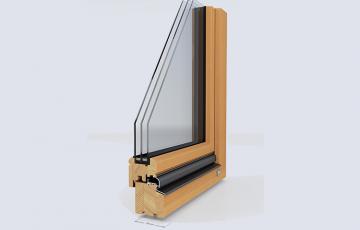 Ferestre din lemn stratificat  Unilux ofera o selectie de culori transparente si semitransparente pentru ferestrele din lemn stratificat.