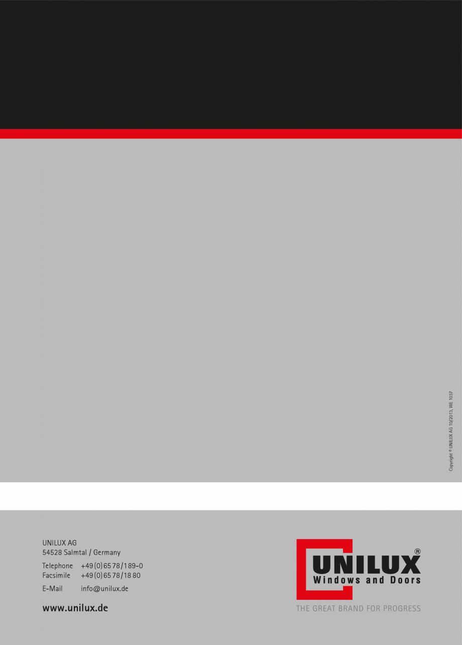 Catalog, brosura Usi de exterior UNILUX Usi de exterior din lemn-aluminiu UNILUX CONSTRUCT  - Pagina 88