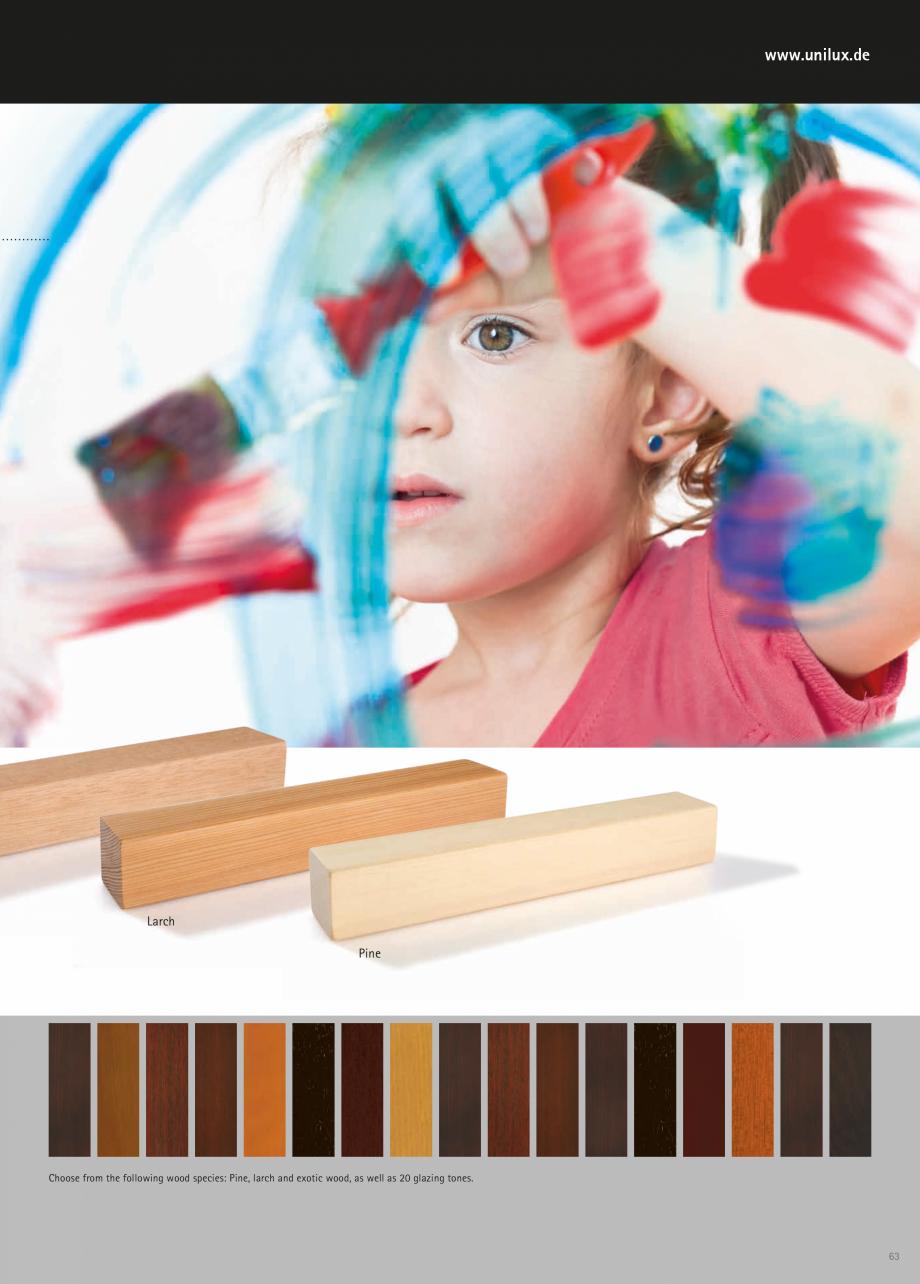 Catalog, brosura Usi de exterior UNILUX Usi de exterior din lemn-aluminiu UNILUX CONSTRUCT  - Pagina 63