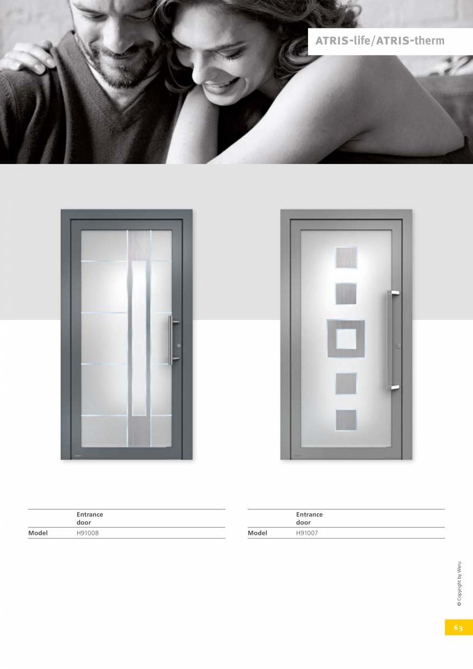 Pagina 63 - Usi de exterior din lemn-aluminiu UNILUX Catalog, brosura Engleza s cannot be emphasised...