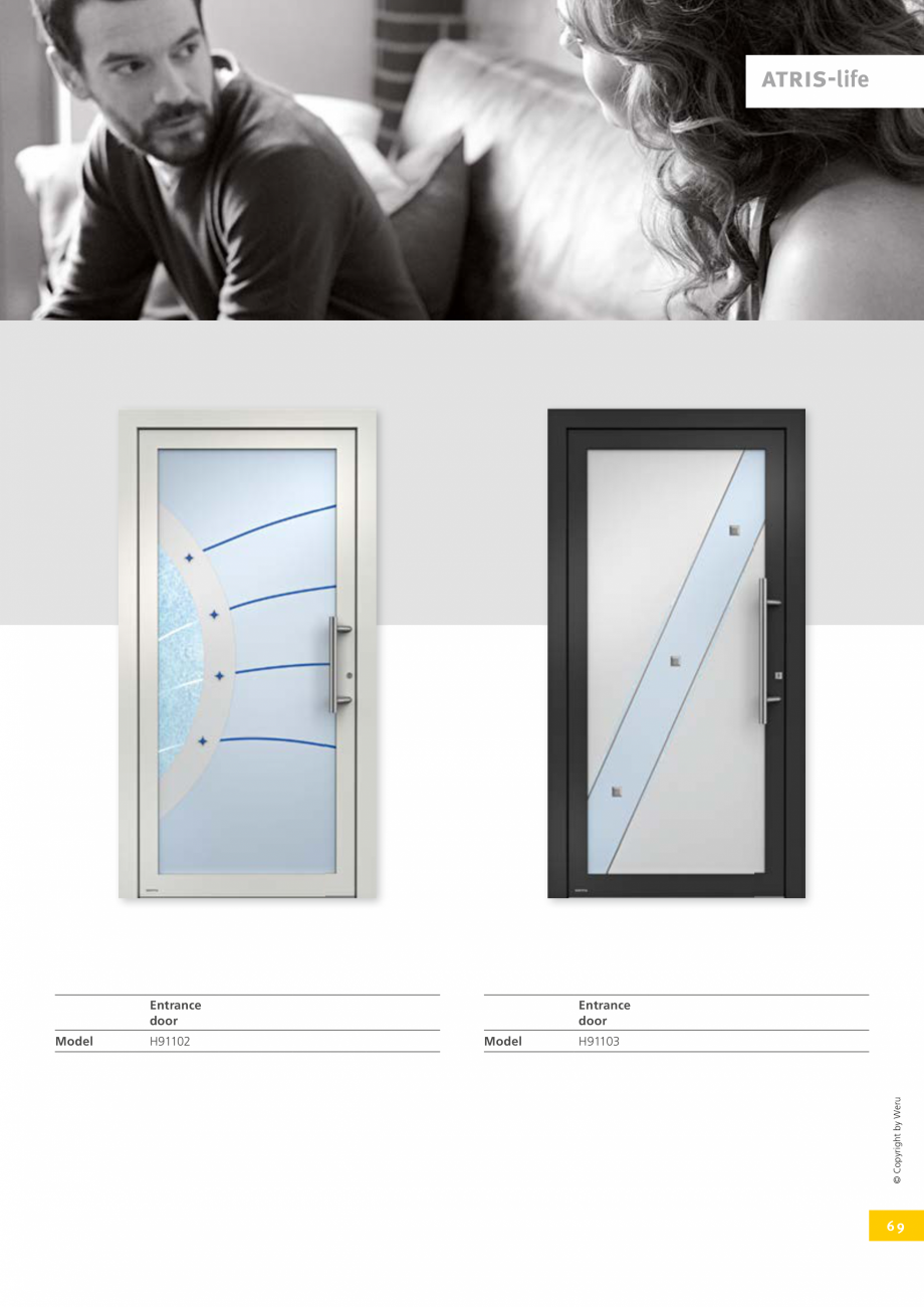 Pagina 69 - Usi de exterior din lemn-aluminiu UNILUX Catalog, brosura Engleza Increase the...