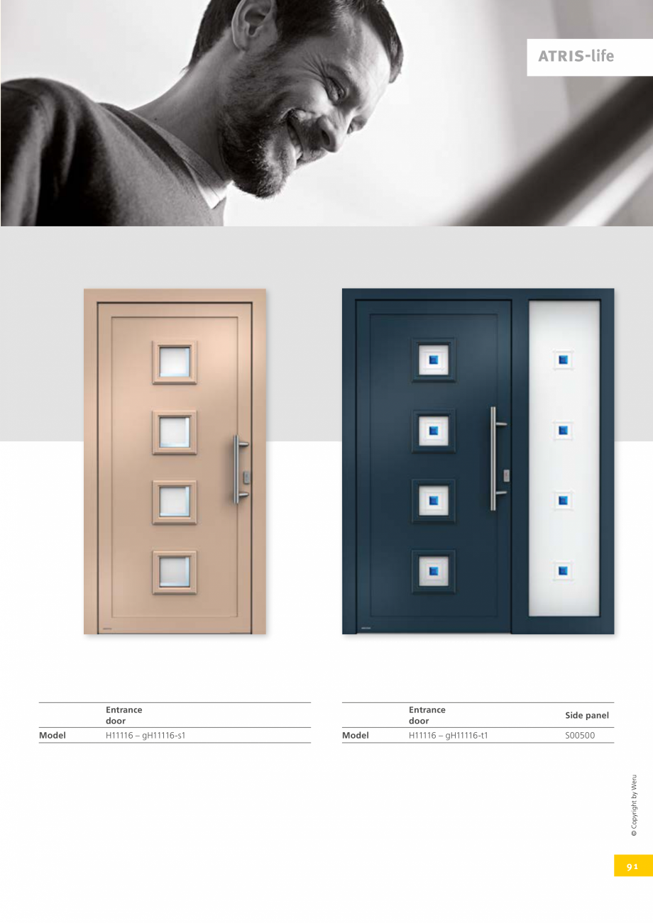 Pagina 91 - Usi de exterior din lemn-aluminiu UNILUX Catalog, brosura Engleza c na t nu c n t c r o ...