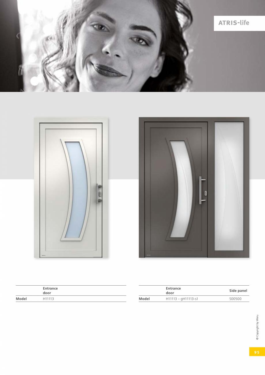 Pagina 95 - Usi de exterior din lemn-aluminiu UNILUX Catalog, brosura Engleza