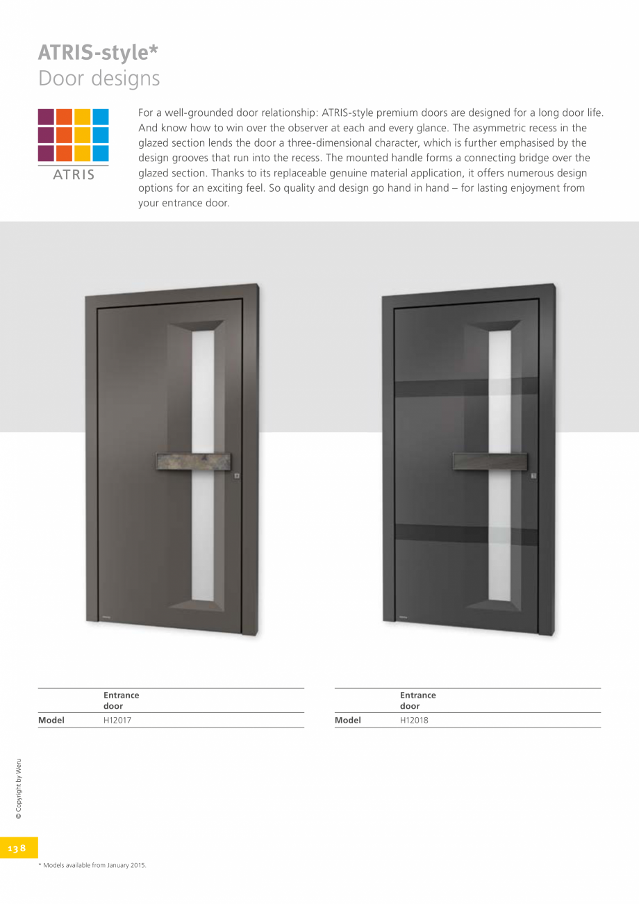 Pagina 138 - Usi de exterior din lemn-aluminiu UNILUX Catalog, brosura Engleza