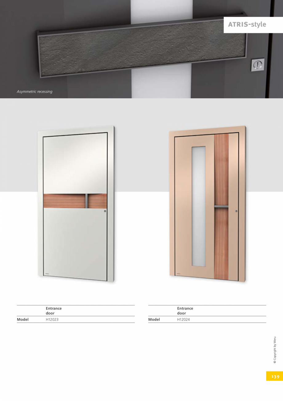 Pagina 139 - Usi de exterior din lemn-aluminiu UNILUX Catalog, brosura Engleza