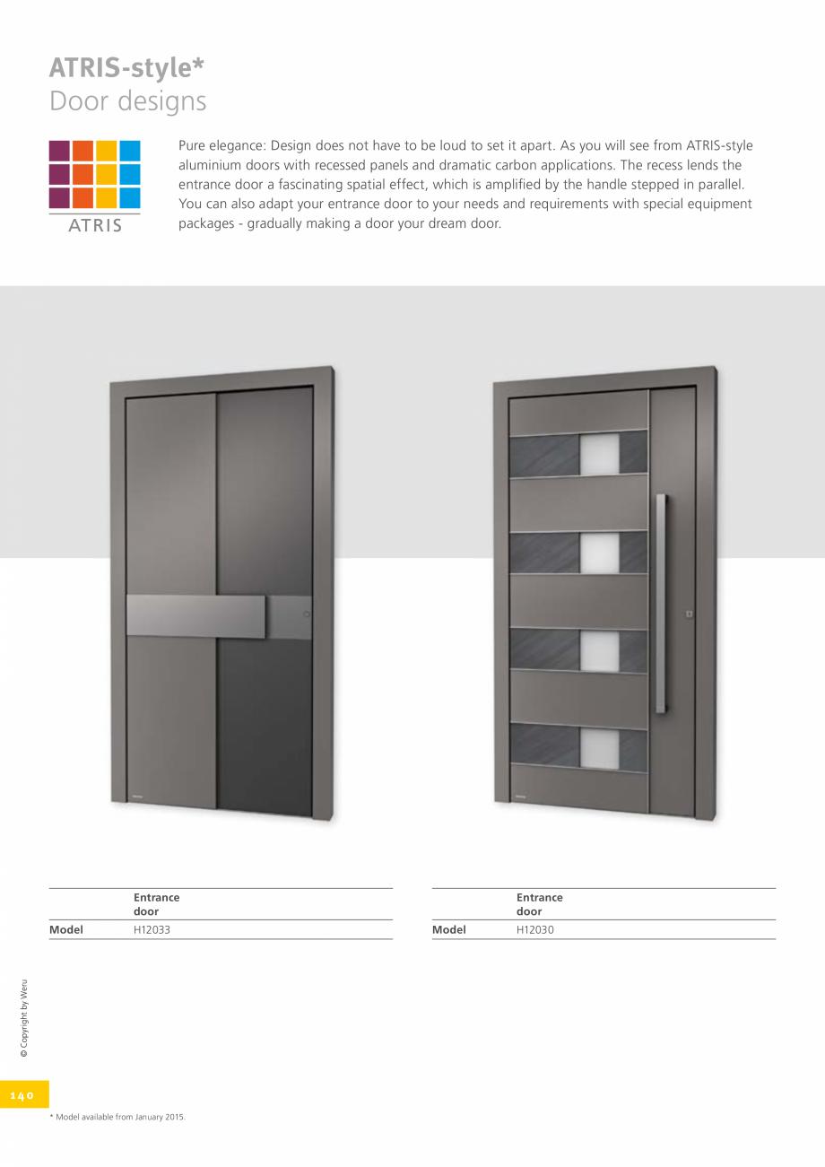 Pagina 140 - Usi de exterior din lemn-aluminiu UNILUX Catalog, brosura Engleza