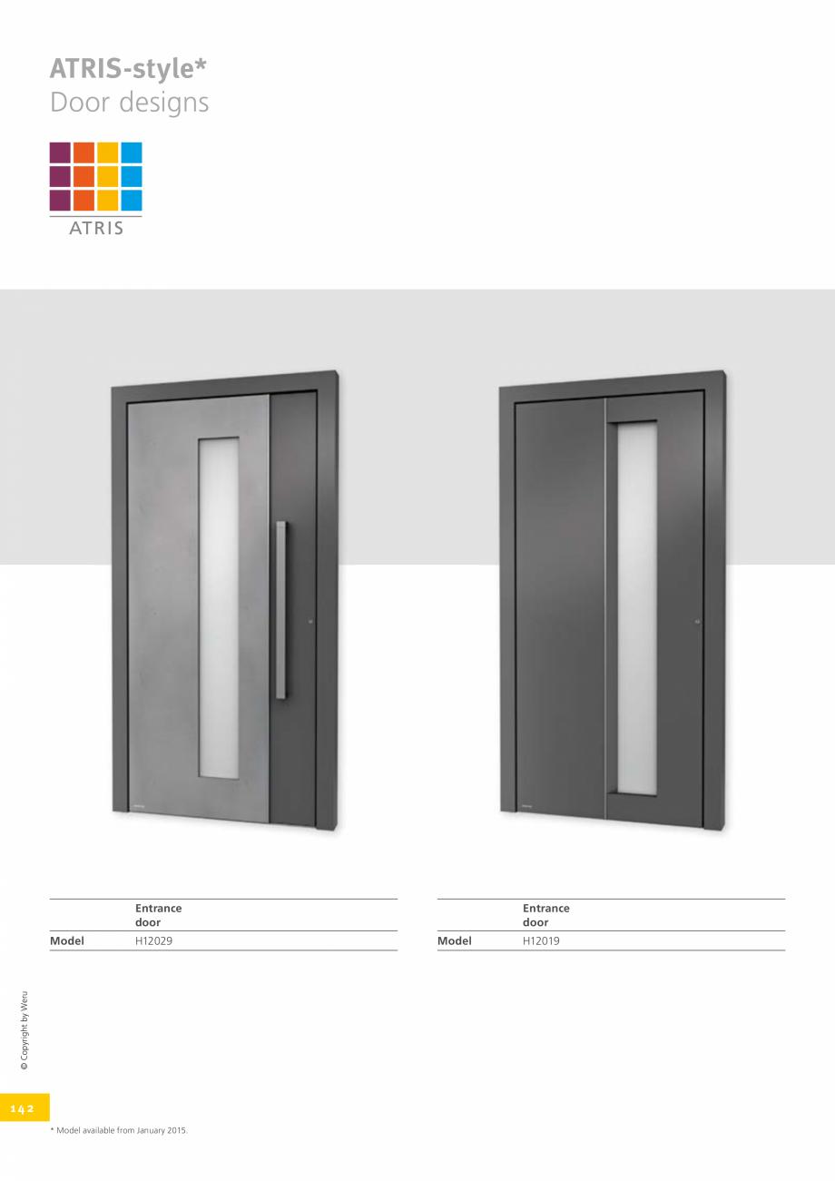 Pagina 142 - Usi de exterior din lemn-aluminiu UNILUX Catalog, brosura Engleza