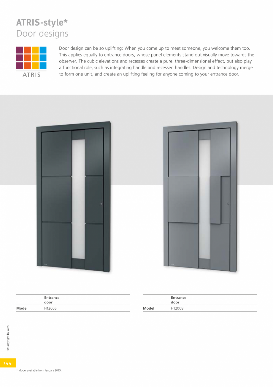 Pagina 144 - Usi de exterior din lemn-aluminiu UNILUX Catalog, brosura Engleza