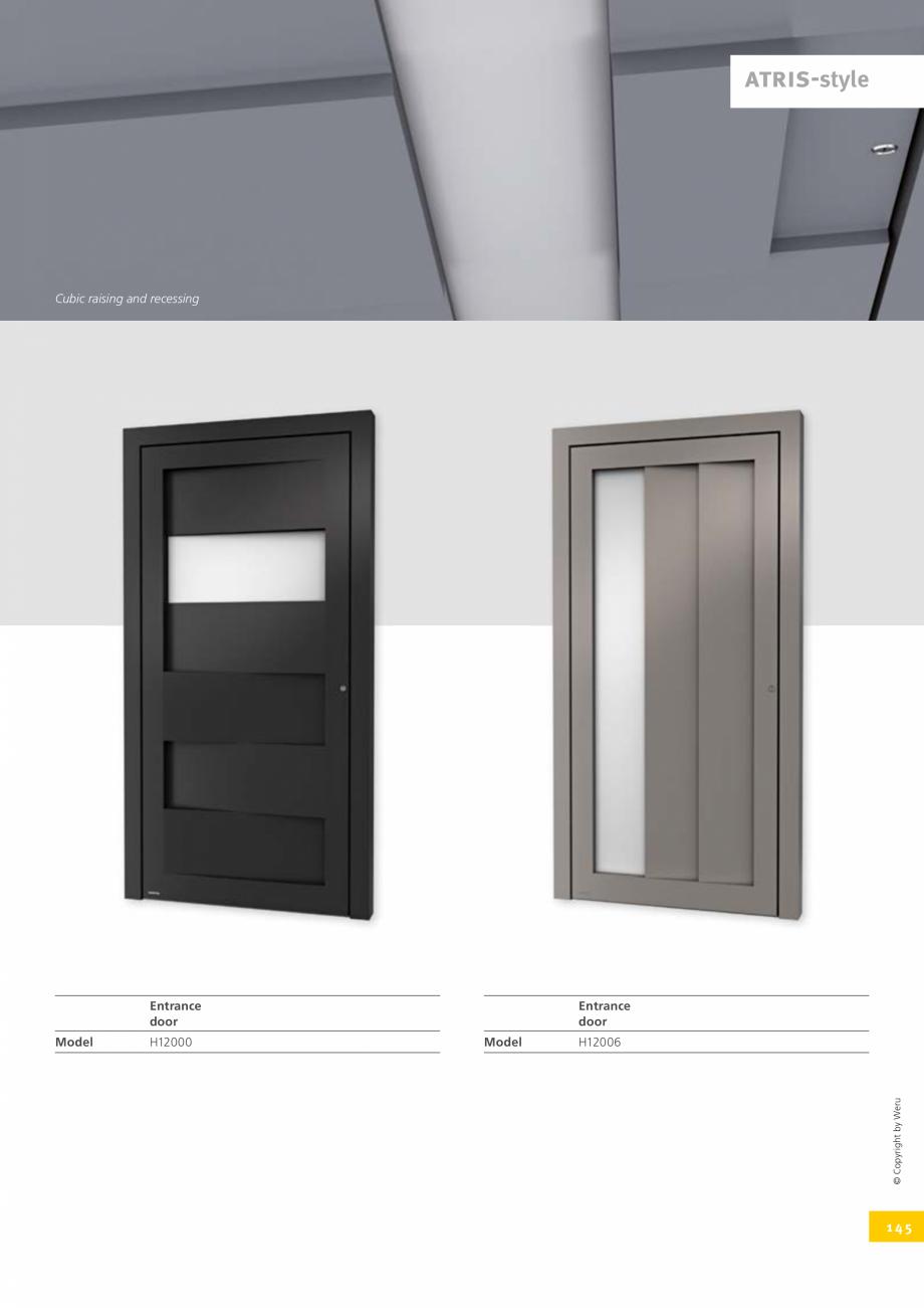 Pagina 145 - Usi de exterior din lemn-aluminiu UNILUX Catalog, brosura Engleza