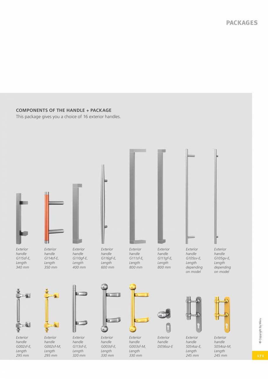 Pagina 171 - Usi de exterior din lemn-aluminiu UNILUX Catalog, brosura Engleza