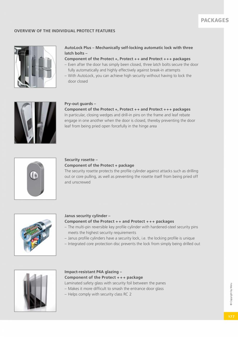 Pagina 177 - Usi de exterior din lemn-aluminiu UNILUX Catalog, brosura Engleza