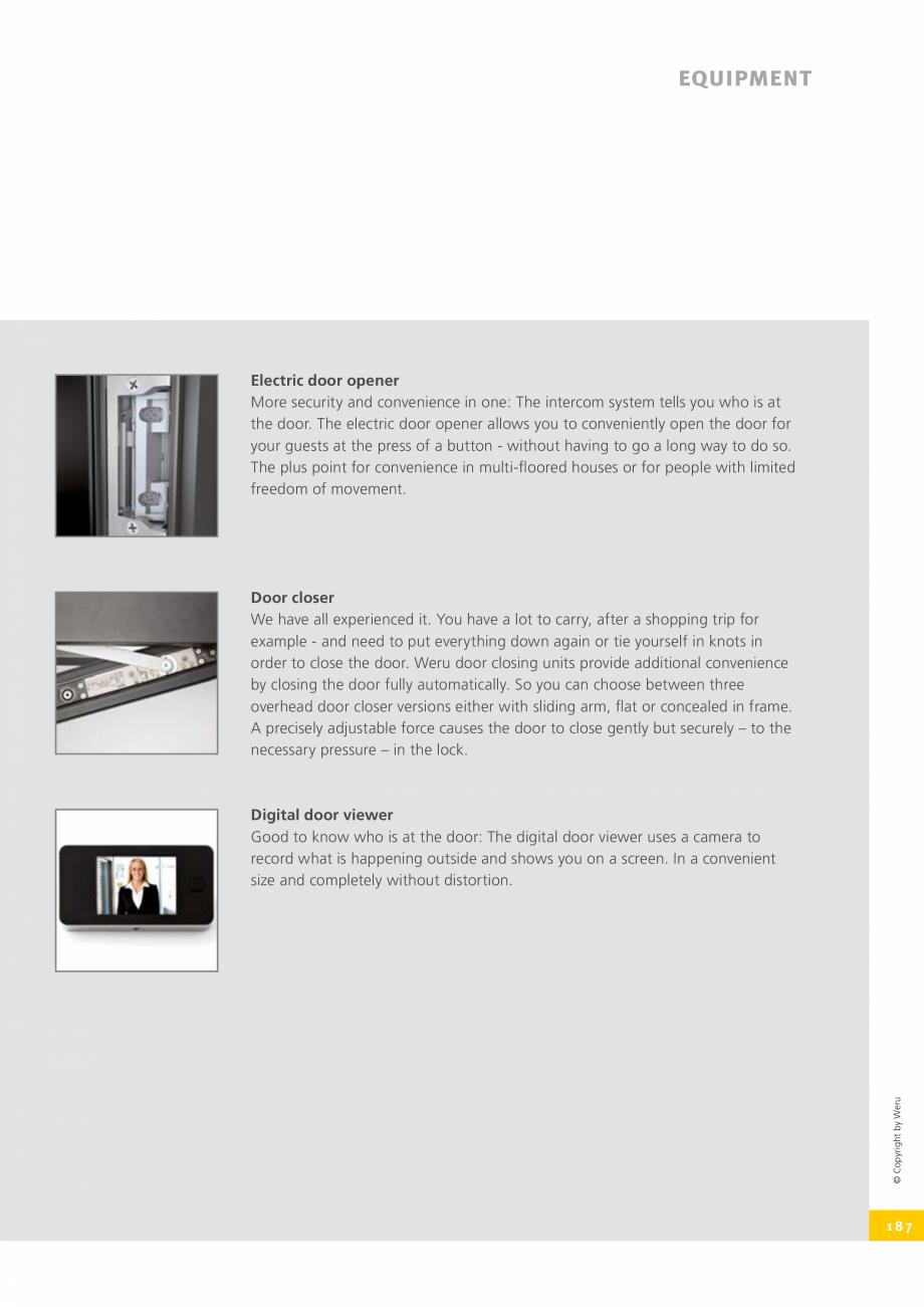 Pagina 187 - Usi de exterior din lemn-aluminiu UNILUX Catalog, brosura Engleza