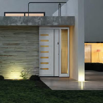 Usa de exterior  Usi de exterior din lemn-aluminiu