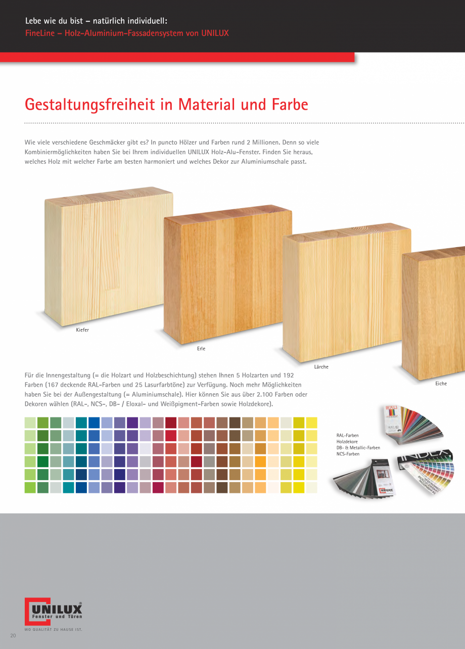 Pagina 20 - Pereti cortina profile structurale UNILUX FINE LINE  Catalog, brosura Germana ...
