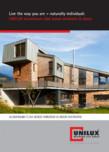 Ferestre din lemn placate cu aluminiu UNILUX - DESIGNLINE 0.7, DESIGNLINE 0.8