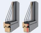 Ferestre din lemn placat cu aluminiu - DesignLine, ModernLine, LivingLine UNILUX