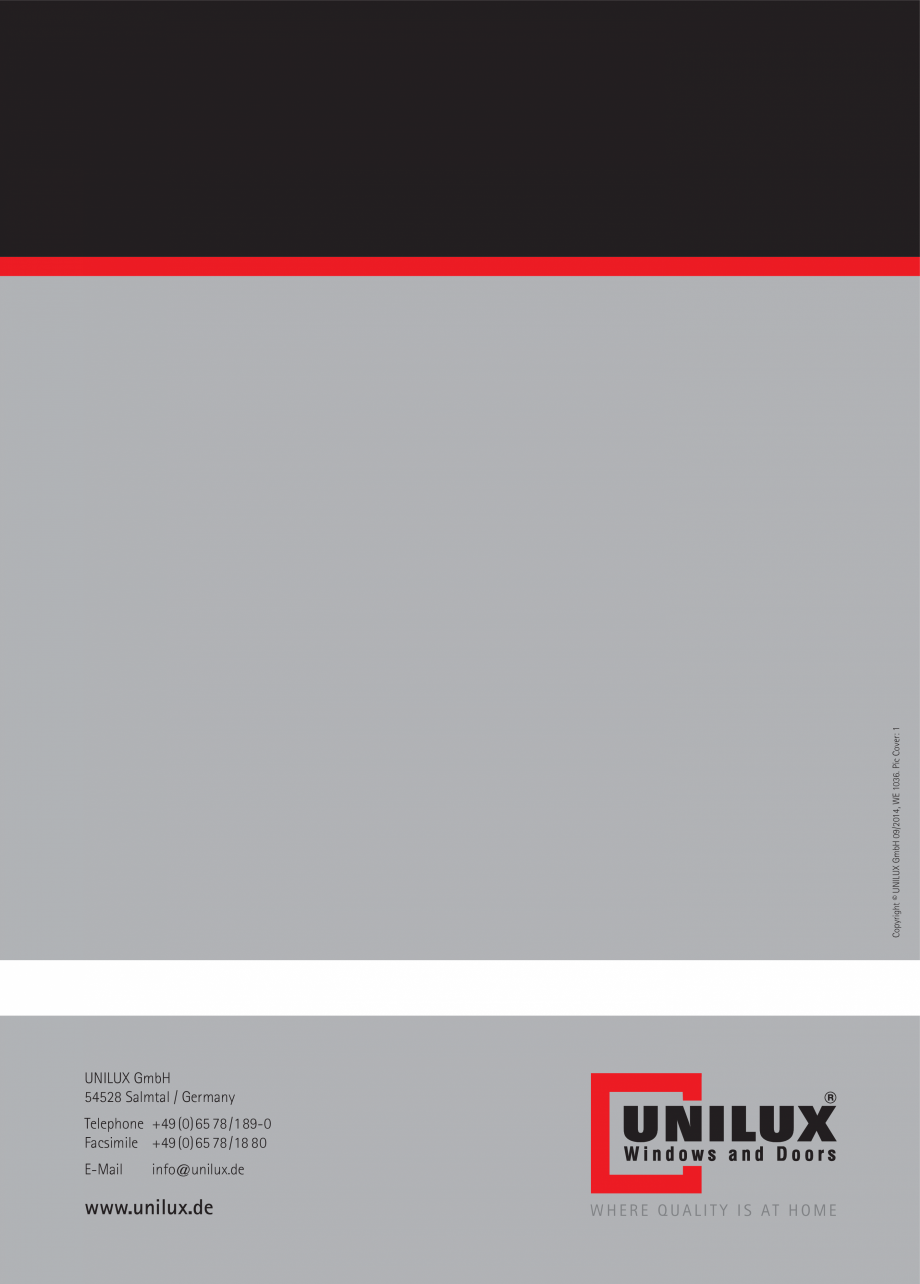 Pagina 42 - Ferestre din lemn UNILUX DesingLine Privacy Catalog, brosura Engleza