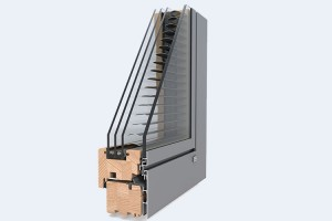 Ferestre din lemn placat cu aluminiu - DesignLine Privacy Ferestre din lemn placate cu aluminiu DesingLine Privacy de la UNILUX indeplinesc cele mai stringente criterii, cu un coeficient de transfer termic la standard de casa pasiva.