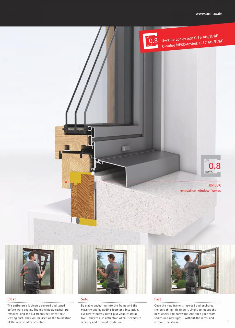 Catalog brosura usi de terasa jumboline unilux usi din for Unilux fenster