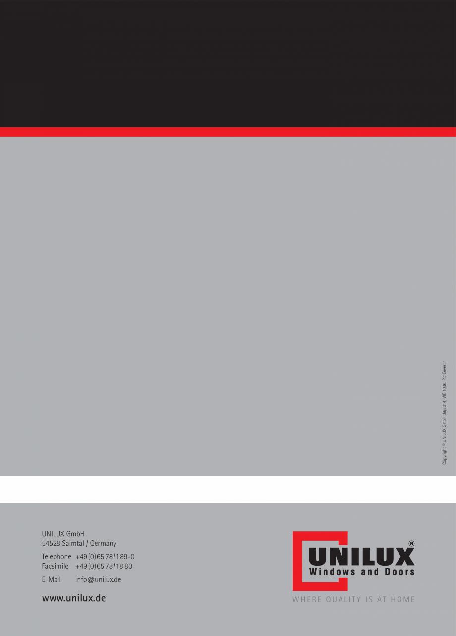Pagina 42 - Usi de terasa UNILUX JUMBOLINE Catalog, brosura Engleza